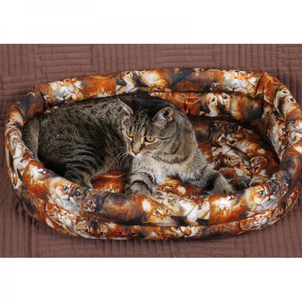 Bettchen Katzenköpfe