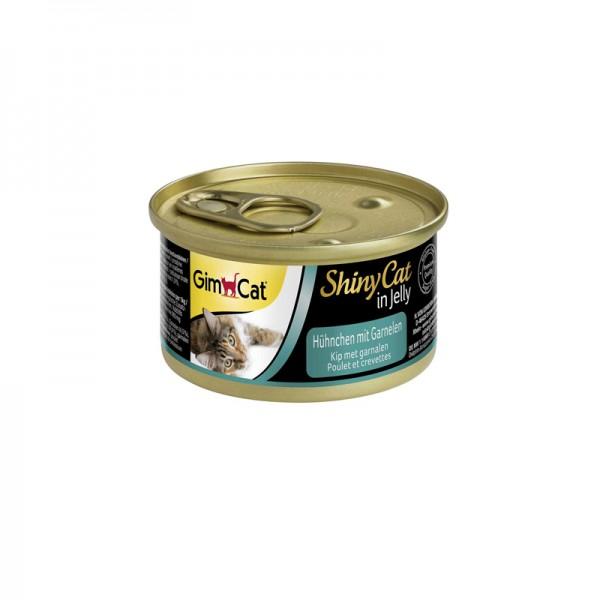 ShinyCat in Jelly mit Hühnchen und Garnelen