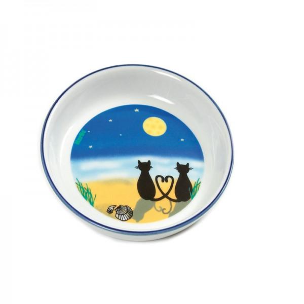 Keramiknapf Katze & Mond