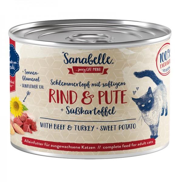 Sanabelle Schlemmertopf Rind & Pute
