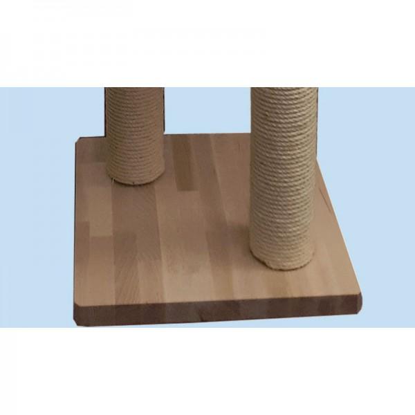 Bodenplatte Buchenholz mit 2 Bohrungen