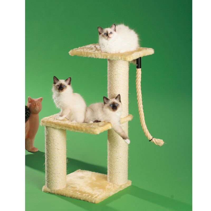 kratzbaum momo kleine standmodelle kletterm bel clevercat katzenartikel shop. Black Bedroom Furniture Sets. Home Design Ideas