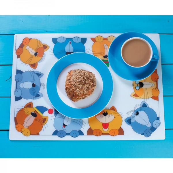 """Tisch-Set """"Bunte Katzen"""""""