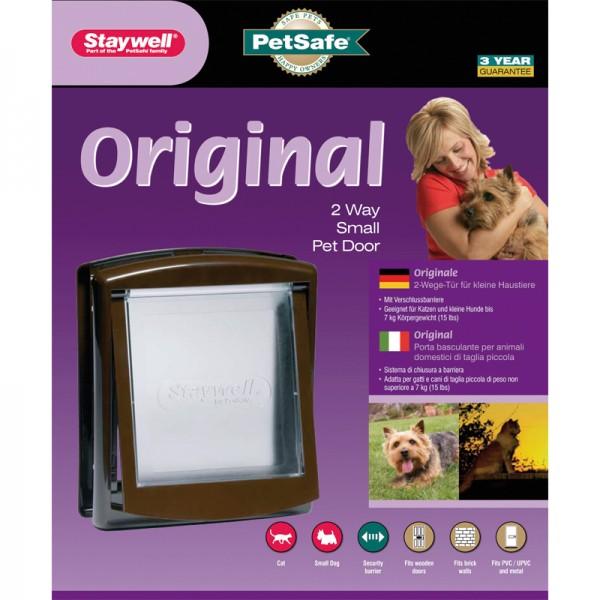Katzentüre Staywell original 730/715 braun