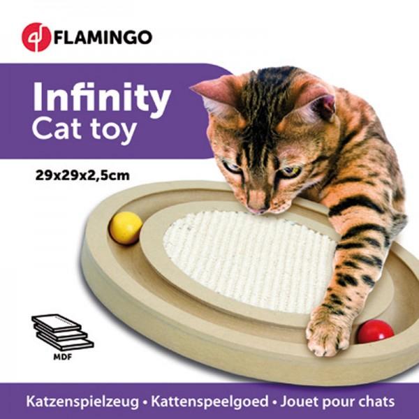 Katzenspielzeug Infinity