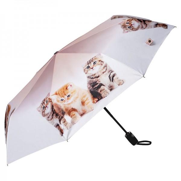 Taschenschirm Katzentrio