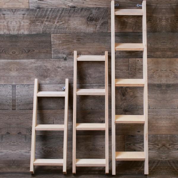 Aufstiegsleiter Holz