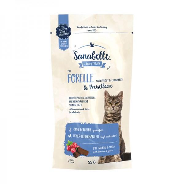 Sanabelle Cat-Sticks Forelle & Preiselbeere