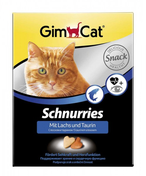 Schnurries Taurin plus Lachs