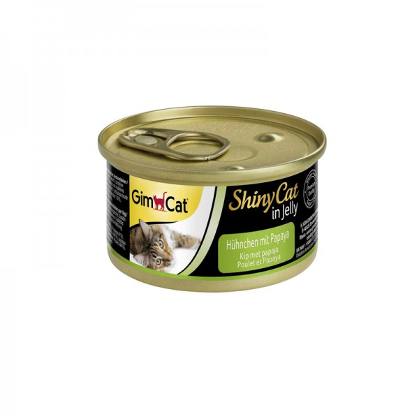 ShinyCat in Jelly mit Hühnchen und Papaya
