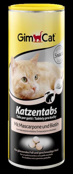 Katzentabs mit Mascarpone und Biotin