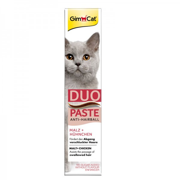 Anti-Hairball Duo-Paste Hühnchen + Malz