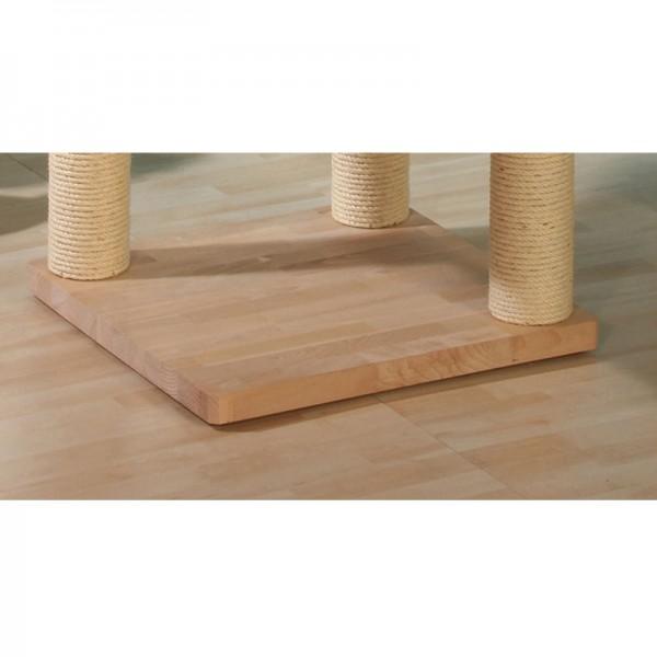Bodenplatte Buchenholz mit 3 Bohrungen