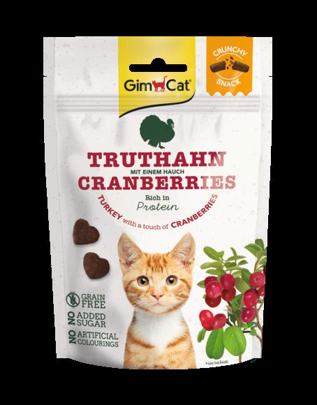 Crunchy Snack Truthahn mit einem Hauch Cranberries