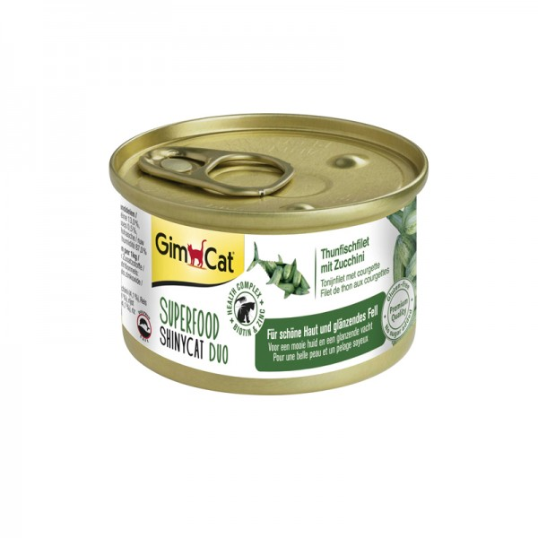 Superfood Shinycat Duo Thunfisch mit Zucchini