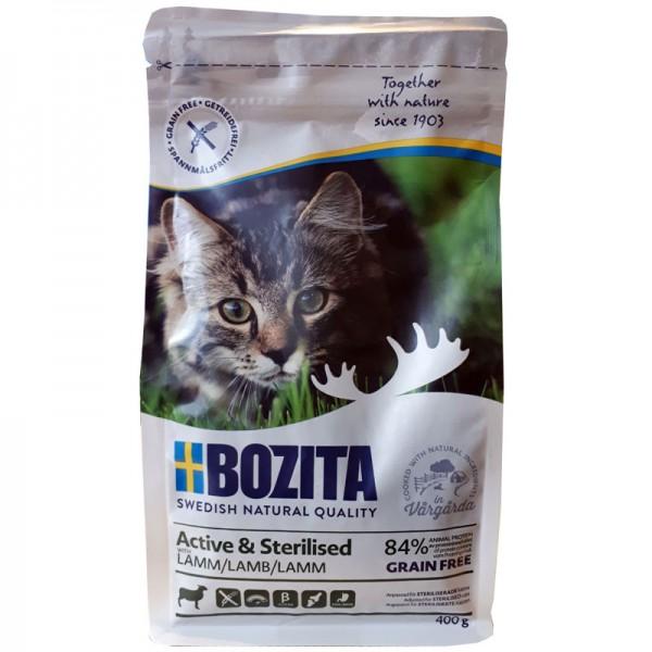 Bozita Active & Sterlized Getreidefrei - mit Lamm