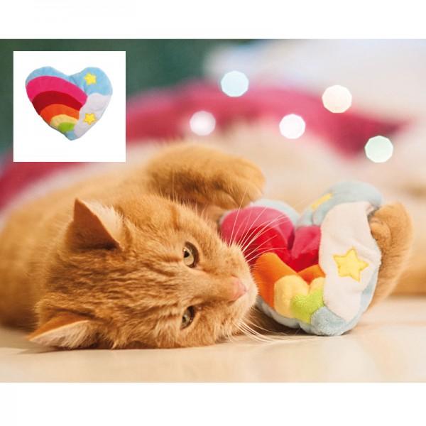 Regenbogen-Herz