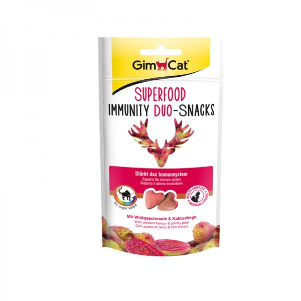 Superfood Immunity Duo-Snacks mit Wildgeschmack & Kaktusfeige