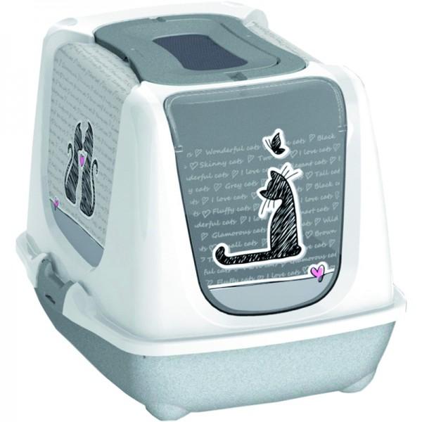 Toilette Cats in love