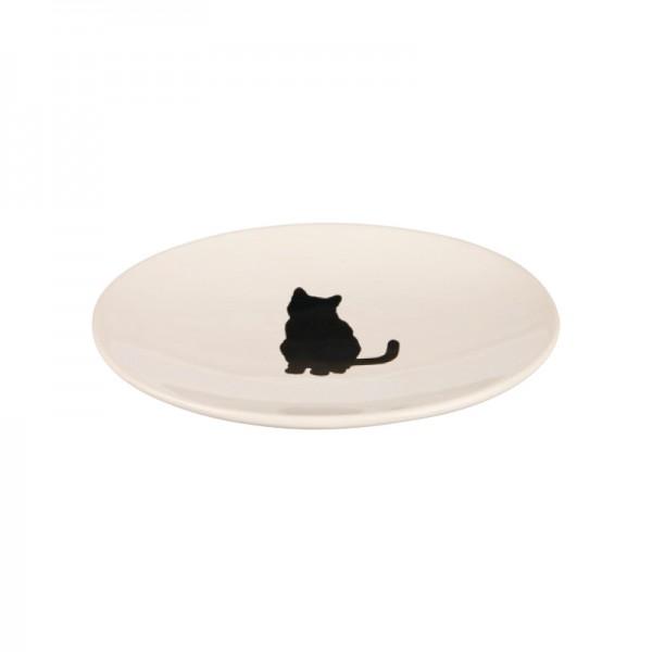 Futterteller Black Cat