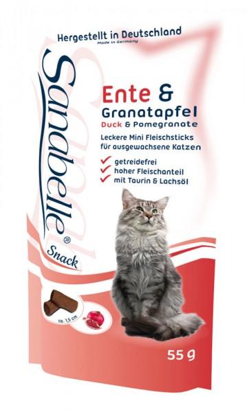 Sanabelle Cat-Sticks Ente & Granatapfel