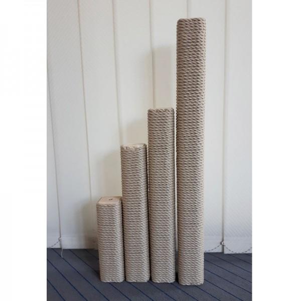 Vierkant-Säulen Kunststoffsisal beige