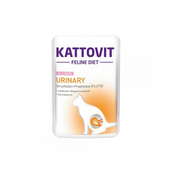 Kattovit Feline Diet Urinary mit Lachs, 85 g