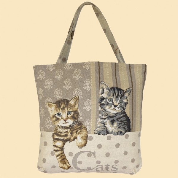 Shopper Two Cats