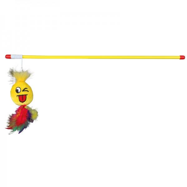 Spielangel mit Smiley