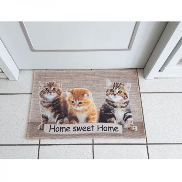 Fussmatte Katzenbabys