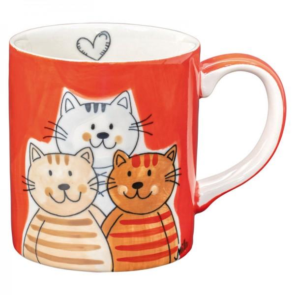 Kaffeebecher Cuddly Cats