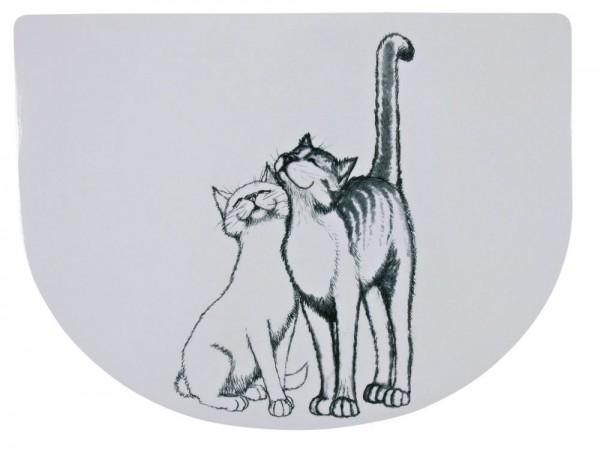 Futterunterlage Schmusekatzen