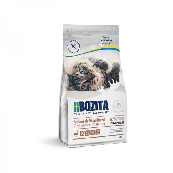 Bozita Indoor & Sterlized Rentier - getreidefrei